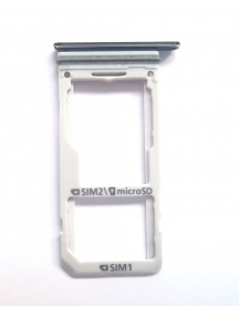 Zócalo de SIM + SD Samsung Galaxy S8 Plus Dual G955 negro