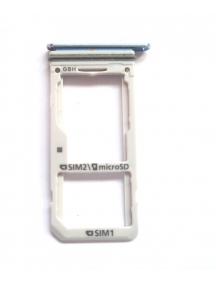 Zócalo de SIM + SD Samsung Galaxy S8 Plus Dual G955 azul