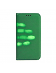Funda libro Forcell Thermo iPhone 6 Plus - 6S Plus verde