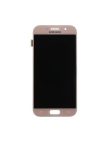 Display Samsung Galaxy A5 2017 A520 rosa