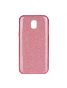 Funda TPU Forcell Shining Samsung Galaxy J5 2017 J530 rosa