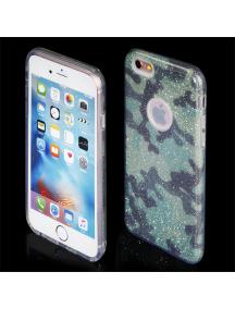 Funda TPU Blink iPhone 7 camuflaje verde
