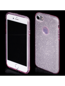 Funda TPU Blink iPhone 7 rosa - dorado