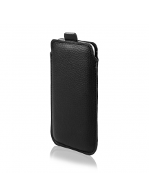 Funda cartuchera ECO iPhone 6 PLUS - LG V10 negra