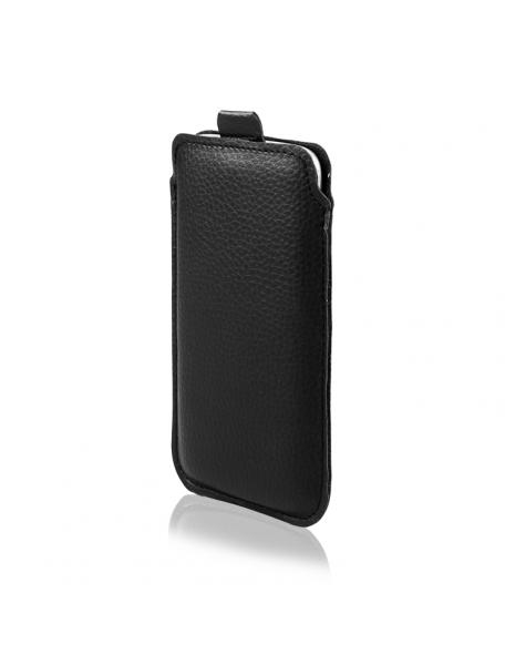 Funda cartuchera ECO Samsung Galaxy S7 Edge G935 - Huawei P9 lite - Honor 7 negra