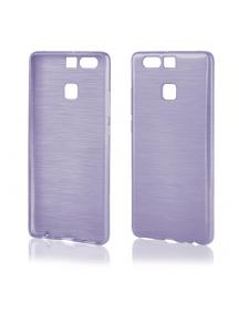 Funda TPU Metallic Huawei Ascend P9 violeta