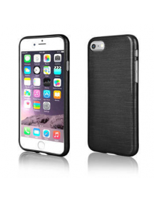 Funda TPU Metallic iPhone 7 negra