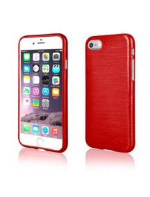 Funda TPU Metallic iPhone 7 roja
