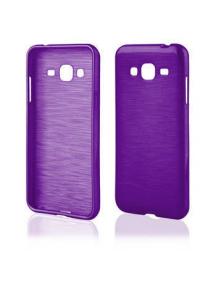 Funda TPU Metallic Samsung Galaxy J3 2016 J320 violeta