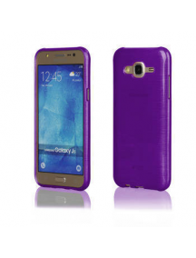 Funda TPU Metallic Samsung Galaxy J5 J500 violeta