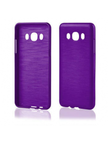 Funda TPU Metallic Samsung Galaxy J5 2016 J510 violeta