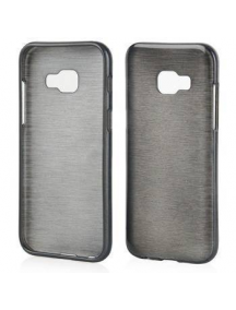 Funda TPU Metallic Samsung Galaxy A3 2017 A320 negra