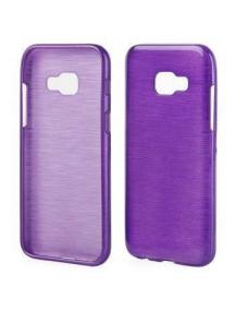 Funda TPU Metallic Samsung Galaxy A3 2017 A320 violeta