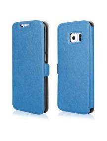 Funda libro TPU Flip Soft Huawei Ascend Y635 azul