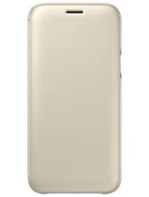 Funda libro Samsung EF-WJ530CFE Galaxy J5 2017 J530 dorada