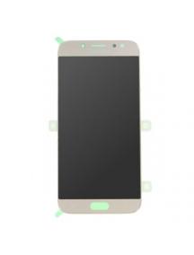 Display Samsung Galaxy J7 2017 J730 dorado