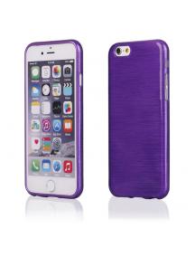 Funda TPU Metallic iPhone 6 violeta