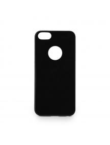 Funda TPU Jelly Flash iPhone 7 Plus negra mate