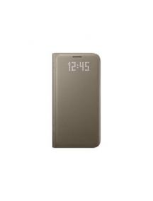 Funda libro led Samsung EF-NG930PFE Galaxy S7 G320 dorada