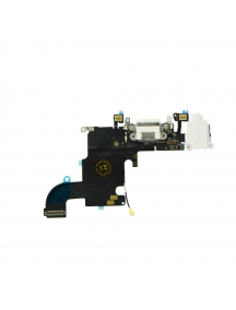 Cable flex de conector de carga - accesorios iPhone 7 blanco
