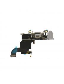 Cable flex de conector de carga - accesorios iPhone 7 gris oscuro