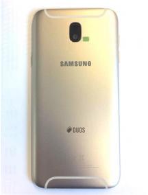 Carcasa trasera Samsung Galaxy J7 2017 dorada