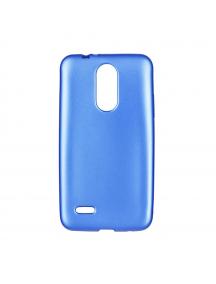Funda TPU Flash Mat LG K4 2017 M160 azul