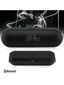 Altavoz Bluetooth Apollo con radio negro