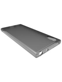 Funda TPU slim Sony Xperia XA1 G3121 negra transparente