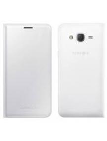 Funda libro Samsung EF-WJ500BWE J5 J500 blanca