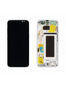 Display Samsung Galaxy S8 G950 plata