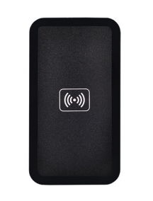 Cargador wireless de inducción QI universal Type 02 negro