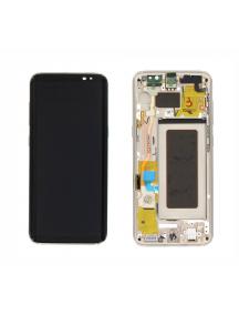 Display Samsung Galaxy S8 G950 dorado