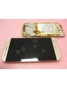 Display Huawei Ascend G8 - GX8 (RIO-L01) dorado