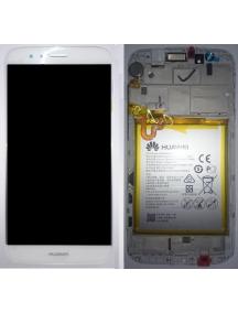Display Huawei Ascend G8 - GX8 (RIO-L01) blanco - champagne