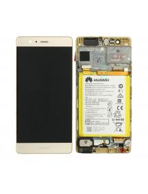 Display Huawei Ascend P9 (EVA-L19) dorado
