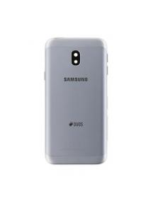Carcasa trasera Samsung Galaxy J3 2017 J330 plata
