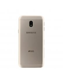 Carcasa trasera Samsung Galaxy J3 2017 J330 dorada