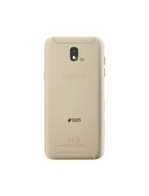 Carcasa trasera Samsung Galaxy J5 2017 J530 dorada