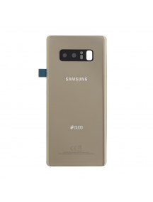 Tapa de bateria Samsung Galaxy Note 8 N950 dorada