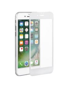 Lámina de cristal templado 5D iPhone 7 Plus - 8 Plus blanca
