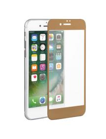 Lámina de cristal templado 5D iPhone 7 Plus - 8 Plus dorada