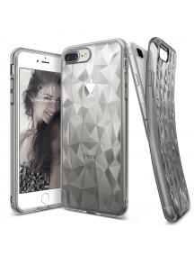 Funda TPU Ringke Air Prism 3D clear iPhone 8 Plus - 7 Plus smoke black