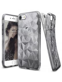 Funda TPU Ringke Air Prism 3D glitter iPhone 8 - 7 gris