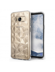 Funda TPU Ringke Air Prism 3D glitter Samsung Galaxy S8 G950 transparente