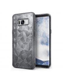Funda TPU Ringke Air Prism 3D glitter Samsung Galaxy S8 G950 gris