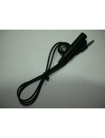 Adaptador de audio Apple iPhone con micro