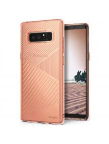 Funda TPU Ringke Bevel Samsung Galaxy Note 8 N950 rosa - dorado