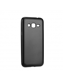 Funda TPU Jelly Case Flash Mat Samsung Galaxy J3 2017 J330 negra