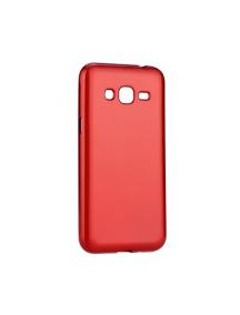 Funda TPU Jelly Case Flash Mat Samsung Galaxy J3 2017 J330 roja